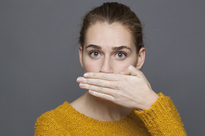 four reasons you have bad breath